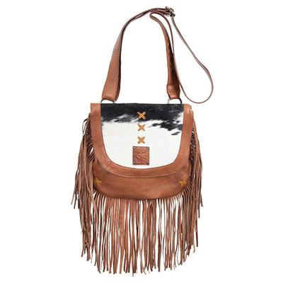 STS Ranchwear Cowhide Daydreamer Fringe Purse