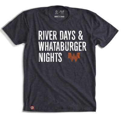 Tumbleweed Texstyles Men's River Days Whataburger Nights T-Shirt