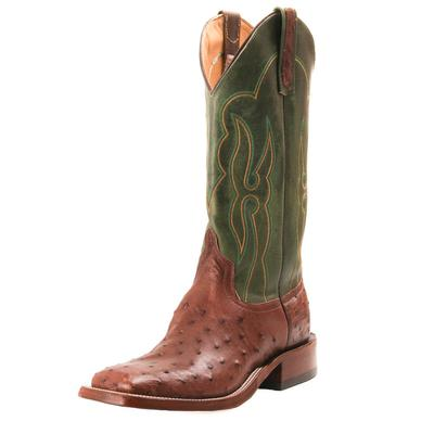 Anderson Bean Men's Kango Tabac Ostrich Western Boots