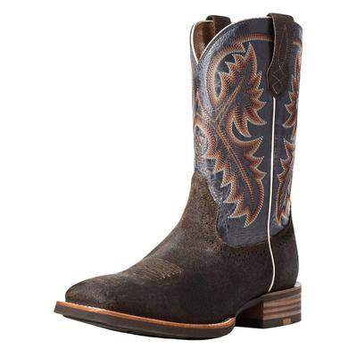 Ariat Men's Quickdraw Galactic Blue Creek Mud Western Boots
