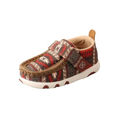 Twisted X Youth Hooey Driving Moccasin Shoes