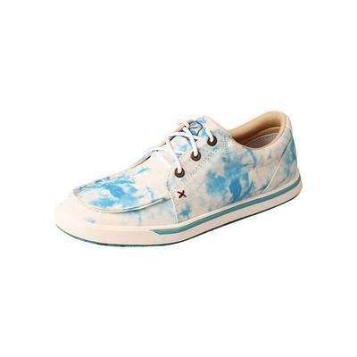 Twisted X Women's Kicks Blue Tie-Dye Shoes