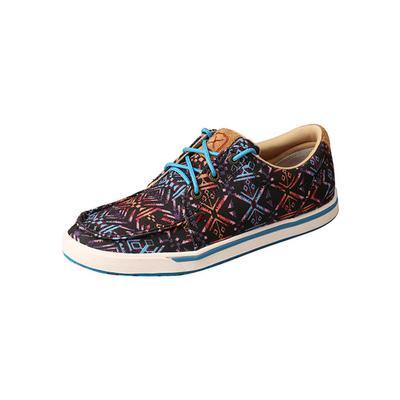 Twisted X Women's Kick Blue Aztec Shoes