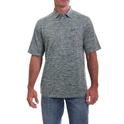 Cinch Men's ARENAFLEX Heather Polo