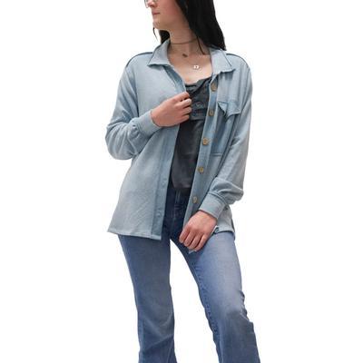 Women's Oversized Bubble Sleeve Jacket