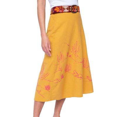 Ivy Jane Women's Desert Scene Skirt