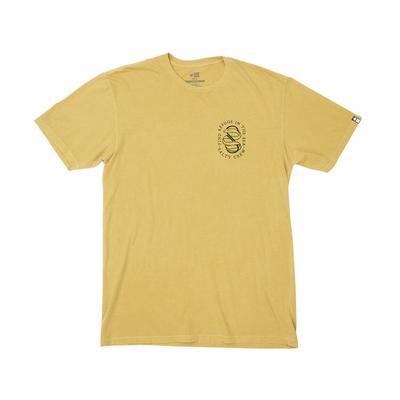 Quicksilver Men's Gold Lurker Short Sleeve T-Shirt