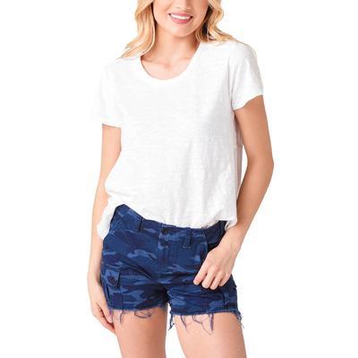 Dylan Women's Slanted Hem T-Shirt
