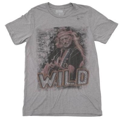Gina Tees Women's Willie Wild Graphic T-Shirt