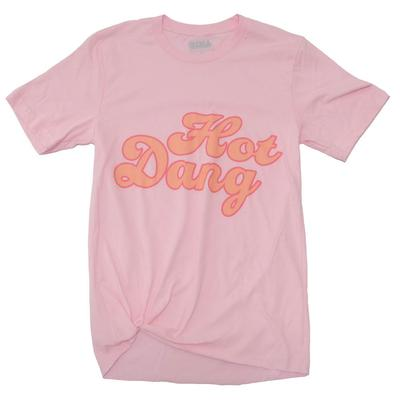 Gina Tees Women's Hot Dang Graphic T-Shirt