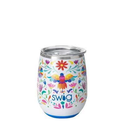 Swig Viva Fiesta 14oz Stemless Wine Cup