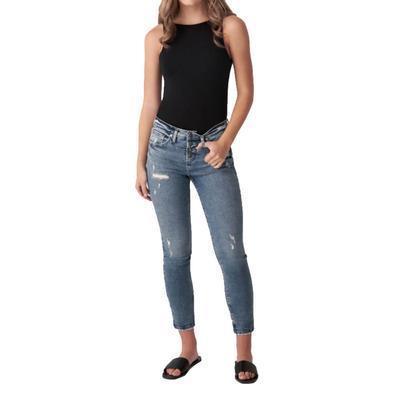 Silver Jeans Women's Beau Girlfriend Jeans