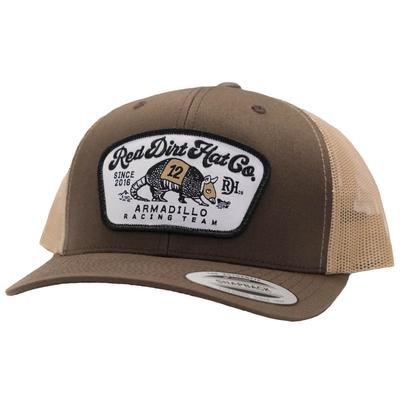 Red Dirt Hat Co.'s Dos Dillo Brown Cap