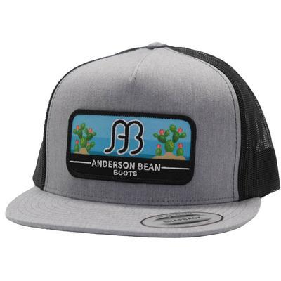 Red Dirt Hat Co.'s Anderson Bean Black Cactus Cap