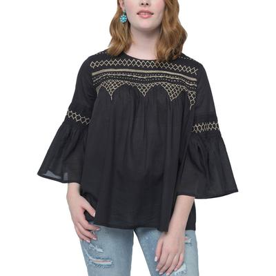 Ivy Jane Women's All Smocked Up Top