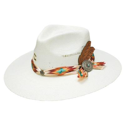 Charlie 1 Horse Women's Navajo Straw Hat