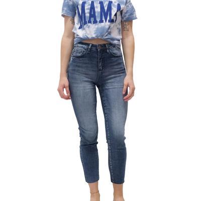Judy Blue Women's Cropped Skinny Jeans