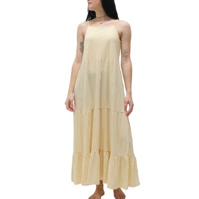 Z Supply Women's Rory Tiered Slub Maxi Dress