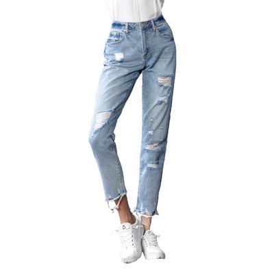 Women's Premium High Rise Girlfriend Jeans