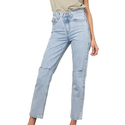 Women's Premium High-Waisted Tapered Jeans