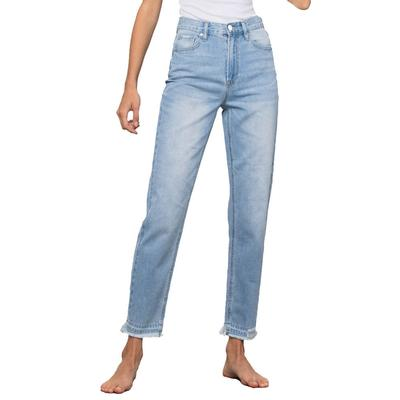Women's Premium High-Waisted Girlfriend Jeans
