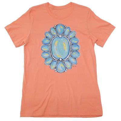 Women's Turquoise Stone T-Shirt