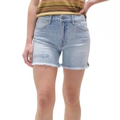 Dear John Women's Distressed Ivy Denim Shorts