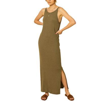 Hyfve Women's Side Slit Sleeveless Dress