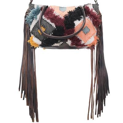 American Darling Shaggy Saddle Blanket Crossbody