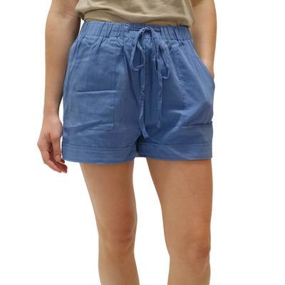 Women's Tencel Drawstring Shorts