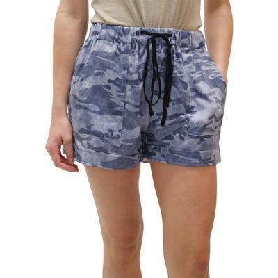 Women's Camo Print Drawstring Shorts