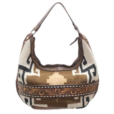 American Darling Tribal And Tooled Purse