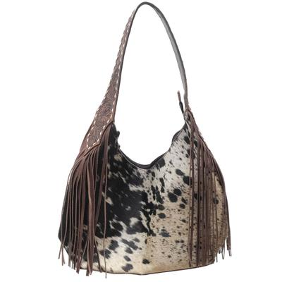 American Darling Traditional Cowhide And Fringe Purse