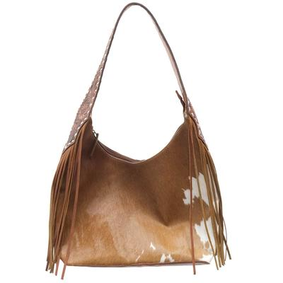 American Darling Traditional Tan Cowhide And Fringe