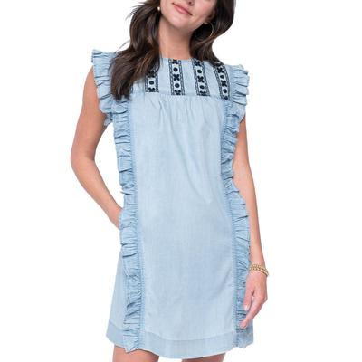 Uncle Frank Women's All Ruffled Up Dress