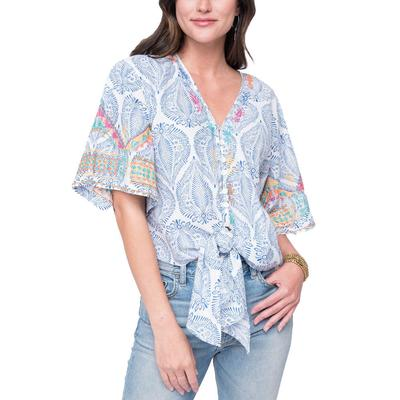 Ivy Jane Women's Bali Embroidered Top