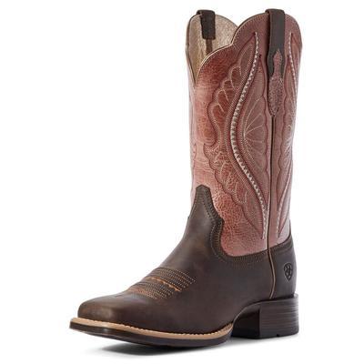 Ariat Women's Pink Primetime Western Boots
