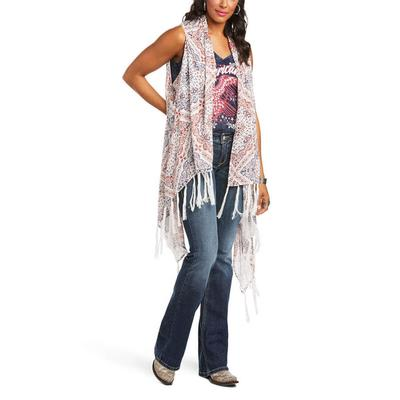 Ariat Women's Texas Heat Kimono Vest