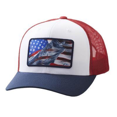 Huk Men's American Frogger Trucker Cap