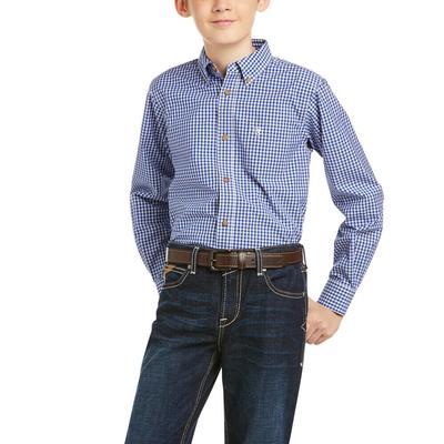 Ariat Boy's Bubba Button-Up Shirt
