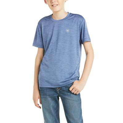 Ariat Boy's Charger Blue Graphic 1 Tee
