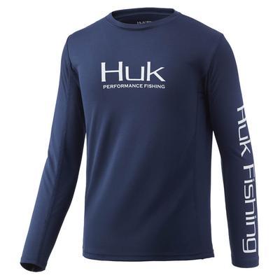 Huk Boy's Icon X Fishing Shirt