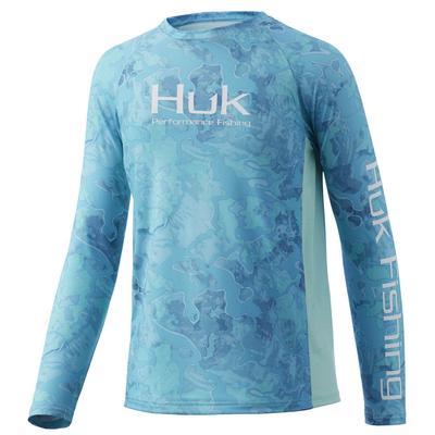 Huk Boy's Current Camo Pursuit Shirt