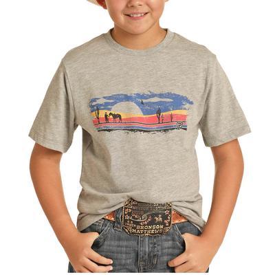 Panhandle Boy's Desert Scene Graphic T-Shirt
