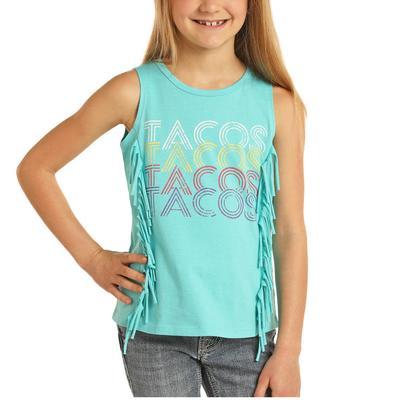 Panhandle Girl's Tacos Tank Top
