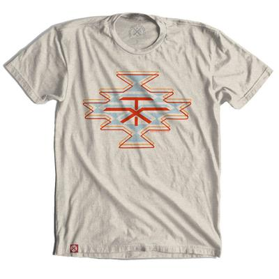 Tumbleweed Texstyles Men's Neutral Native TX Diamond T-Shirt