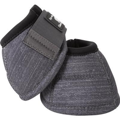 Classic Equine Dyno No-Turn Bell Boots CHARCOAL