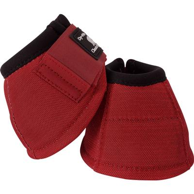 Classic Equine Dyno No-Turn Bell Boots CRIMSON