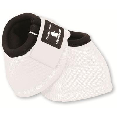 Classic Equine Dyno No-Turn Bell Boots WHT