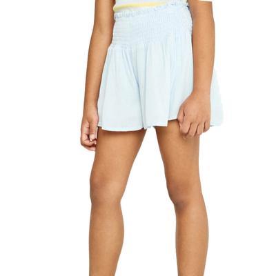 Hayden Girl's Smocked Waist Soft Shorts